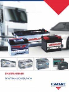 Katalog Starterbatterien