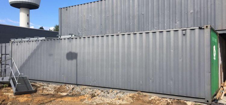 Sonderposten: Container 40-Fuss -gebraucht-