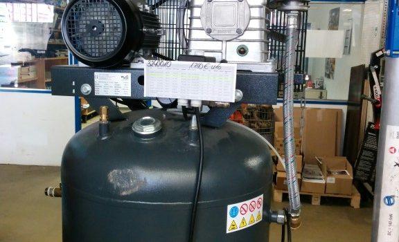 VERKAUFT – gebrauchter Kompressor, 400Volt – 15 bar – 300l-Behaelter